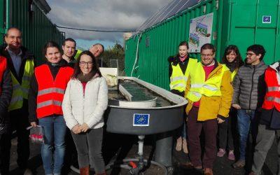 ALGAECAN creates a sewage treatment system with algae pioneer in Europe