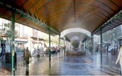 URBAN GreenUP comienza la instalación de la marquesina vegetal de Plaza España en Valladolid