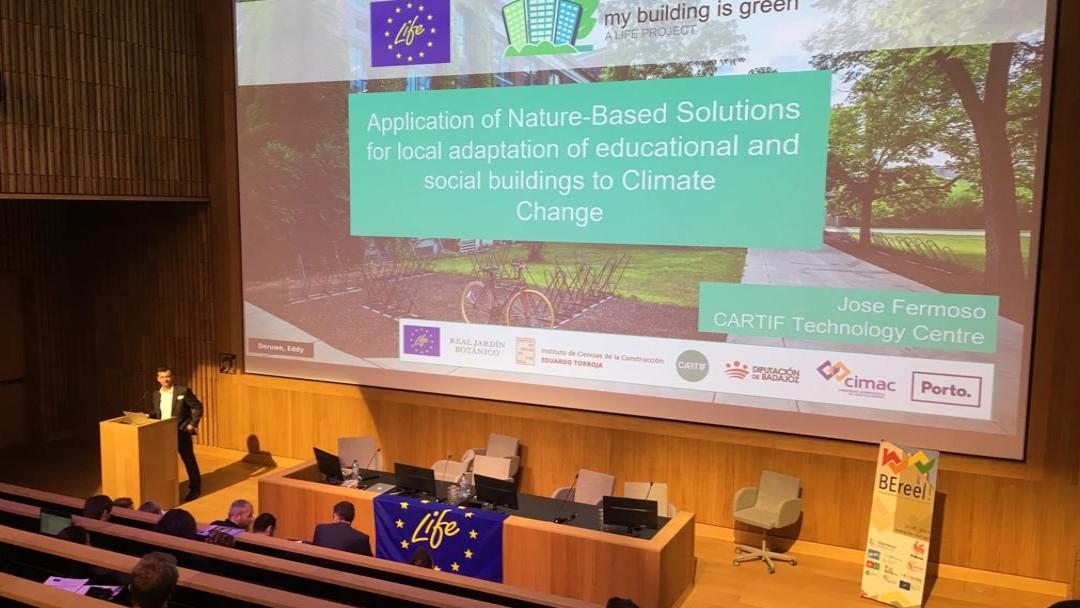 conferencia sobre soluciones arquitectónicas basadas en la naturaleza