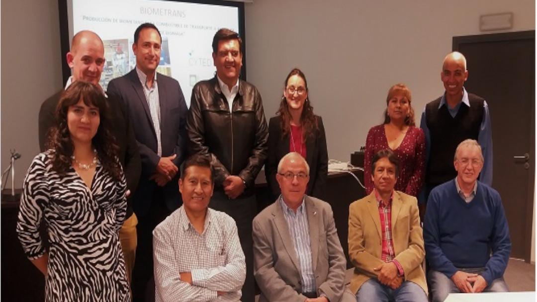 Uruguay acoge un workshop internacional del proyecto BIOMETRAN