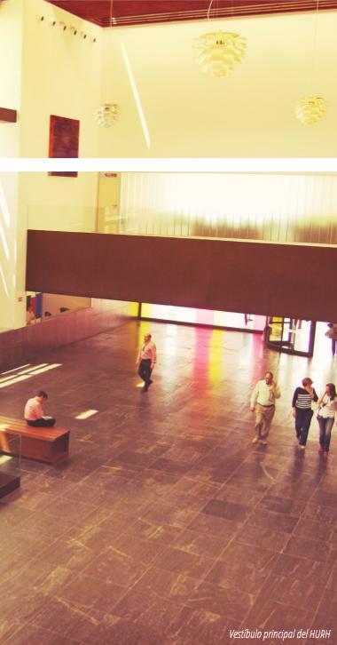 Vestíbulo Hospital Universitario Rio Hortega