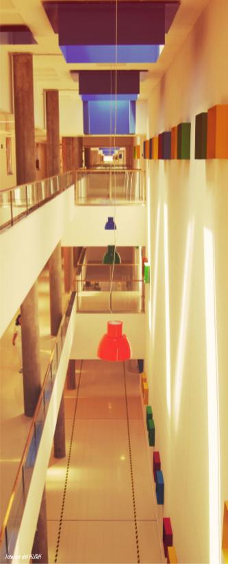Interior Hospital Universitario Rio Hortega