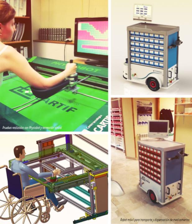 Robot móvil para transporte y dispensación de medicamentos