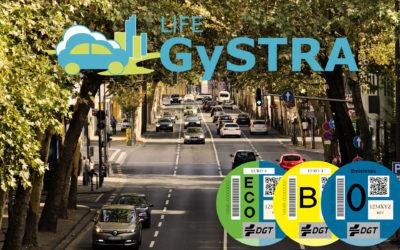 La DGT evalúa cambiar las etiquetas ambientales de los vehículos híbridos gracias al proyecto LIFE GySTRA