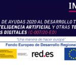 Convocatoria de ayudas 2020 inteligencia artificial y tecnologías habilitadoras