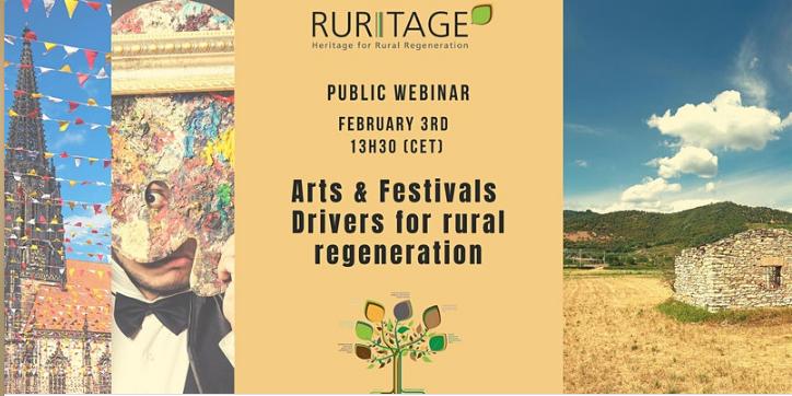 Ruritage. Arts & Festivals webinar