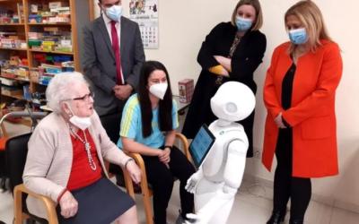 CARTIF y la Universidad de Valladolid firmarán un convenio con la Consejería de Familia para el cuidado de mayores mediante robots sociales