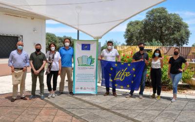La Diputación de Badajoz acoge la tercera reunión de control del proyecto LIFE myBUILDINGisGREEN