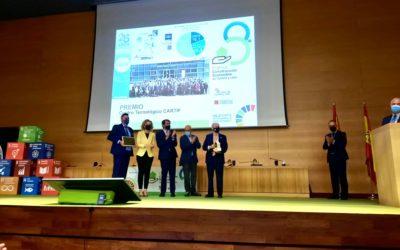 CARTIF, ganador de los Premios de Construcción Sostenible de Castilla y León, en la categoría especial Proyección Exterior CyL