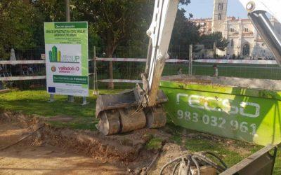 URBAN GreenUP continúa con la renaturalización urbana en Valladolid y comienza las obras del jardín de Portugalete