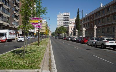 Barreras acústicas vegetales y un corredor verde, las dos nuevas obras del proyecto URBAN GreenUP en Valladolid